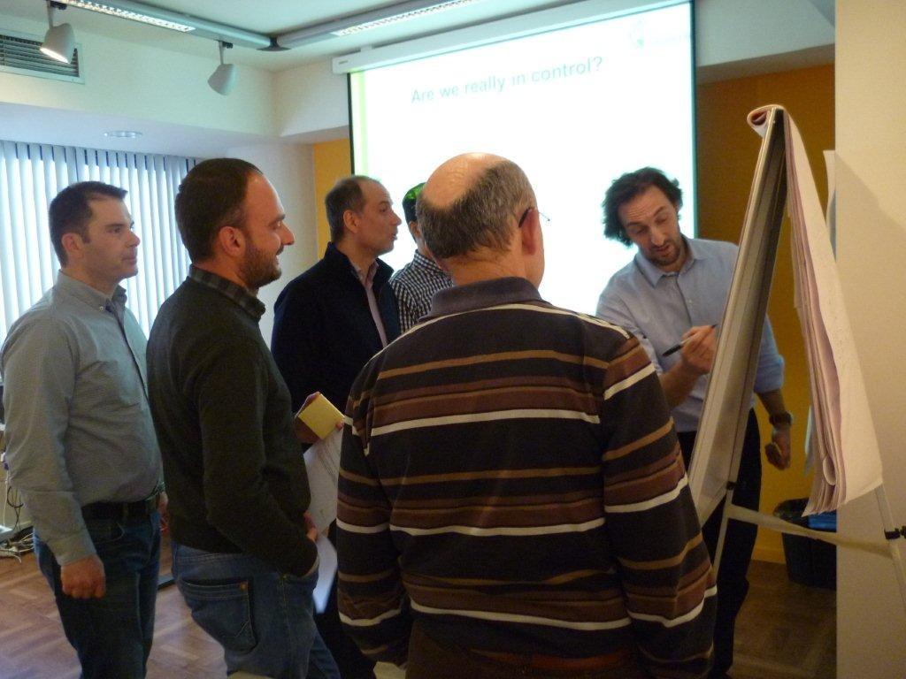 Case Study Team - Project Risk Workshops in Athens, Greece